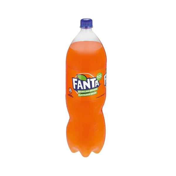 Fanta Orange 2l Plastic Bottle