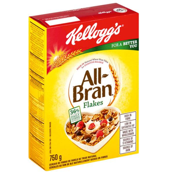 Kelloggs All Bran Flakes 750g