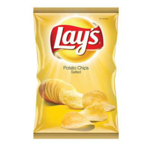Lays Chip salted 125g