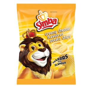 Simba Creamy cheddar 125g