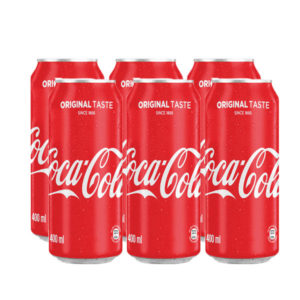 Coca Cola  Original Taste 400ml 6pack