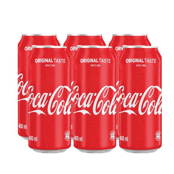 Coca Cola Original Taste 400ml 6pack