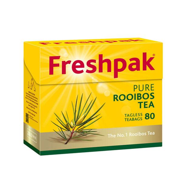 Freshpak Rooibos Tag-less Teabags 80's