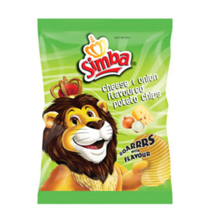 Simba Cheese & Onion 125g